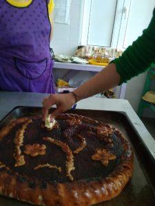 Приготовления пирога -результат